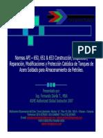API 650, 651, & 653 - SEPTIEMBRE 2008