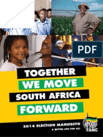 ANC 2014 Manifesto Executive Summary