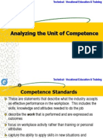 Topic 5 Analysing Unit of Competence