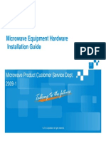09 Microwave Equipment Hardware Installation Guide [Compatibility Mode]