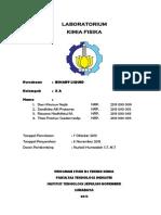 Laporan Praktikum Kimia Fisika Binary Liquid Zandhika Alfi Pratama