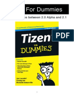Tizen for Dummies Main Change List