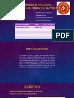 Universidad Nacional Porosidad