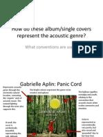 Acoustic Album Covers