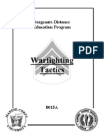 War Fighting Tactics