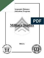 Military Studies