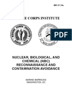 Nuclear Biological and Chemical Reconnaissance and Contamination Avoidance