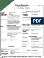 Calcium Peroxide Msds