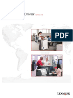 Lexmark Universal Driver v1.6 White Paper
