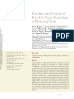 Evolution and Diversity of Plant Cell Walls