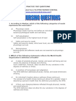 500 Nursing Questions