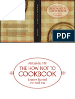 How NOT to Cookbook