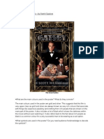 Analysing Movie Posters - The Great Gatsby