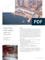 Tsuen Wan West Station - Design & Construction (Arup Journal 2006)