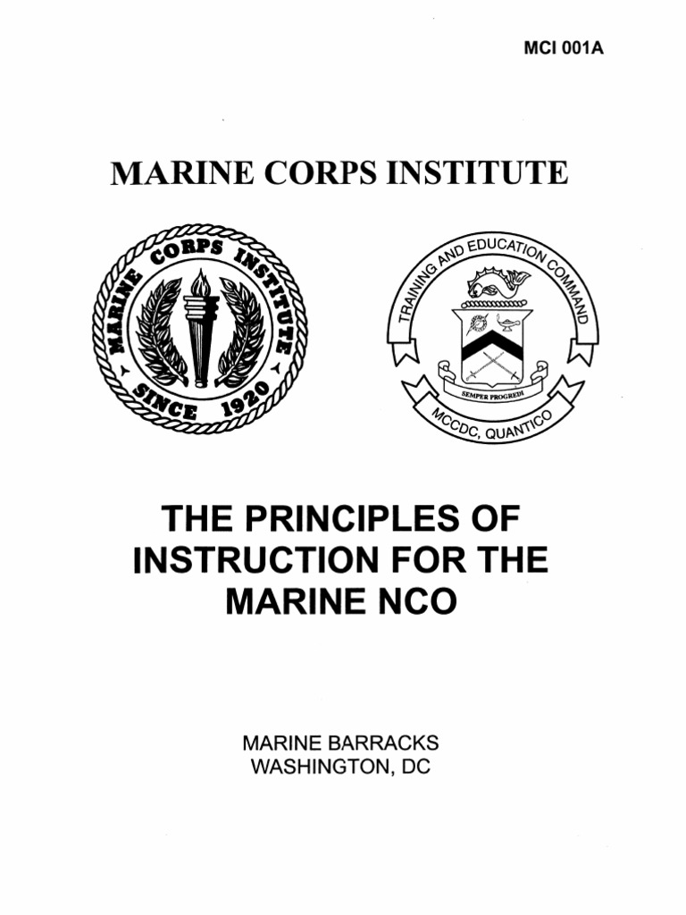 answers for math for marines mci