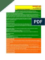 Bussplanning Modelo Financiero