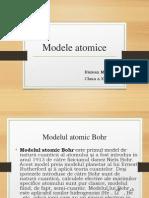 MODELE ATOMICE