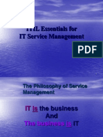 ITIL Foundation Presentation