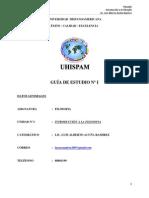 Guia de Filosofia Nº I (Introducción a la Filosofía).doc