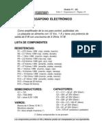 MEGAFONO ELECTRONICO
