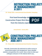 Construction Project Risk Mgmt