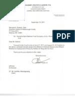110913 - Affidavit Employment K Dawson