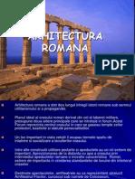 Arhitectura Romana Antica