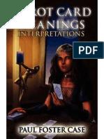 Case Paul Foster Tarot Interpretation Tarot Card Meanings Vol 2 Interpretations Part 2