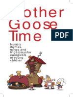 Nursery Rhyme Booklet