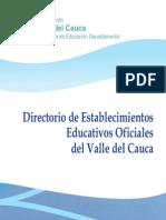 Directorio Establecimientos Educ Oficiales