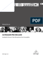 Behringer Ultragain Manual Español