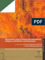 Documentos Para La Historia Del Movimiento Indigena