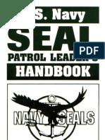US Navy SEAL Patrol Leader's Handbook
