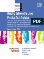 Practical Text Analytics