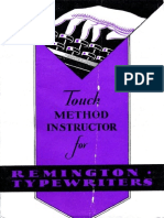 Remington Touch Method