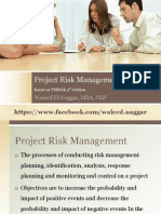 PMP Risk Management