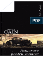 James M. Cain - Asigurare Pentru Moarte.v.1.0