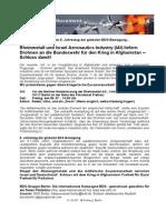 2010_Kundgebung Rheinmetall Und Israel Aerospace Industries IAI Liefern Drohnen an Die Bundeswehr Fur Den Krieg in Afghanistan