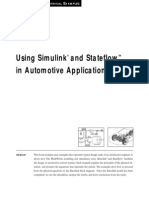 Matlab, Simulink - Using Simulink and Stateflow in Automotive Applications