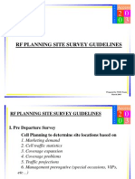RF Site Survey Guidelines