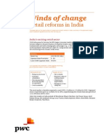 Winds of Change Retail Reforms in India Final Sept 2012 (With RM)