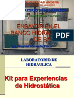 Kit Para Experiencias Hodrostaticas Ing Civil