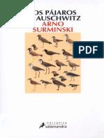 Los Pajaros de Auschwitz - Arno Surminski
