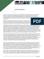 Ecuador y La Mano Sucia de Chevron