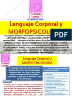 TematicoLenguaje Corporal y MorfoPsicologia