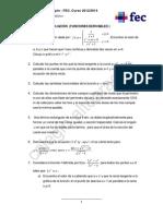 Matemáticas - 2ª Ampliación 1ª Ev.