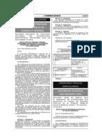 Supuestos de conclusión anticipada del procedimiento administrativo sancionador para las actividades mineras