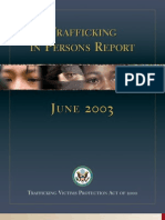 2003 Trafficking in Persons Report