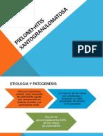 PIELONEFRITIS XANTOGRANULOMATOSA