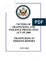 2001 Trafficking in Persons Report
